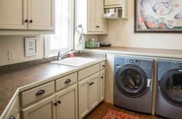 A-Utility-Sink-Next-To-Washer