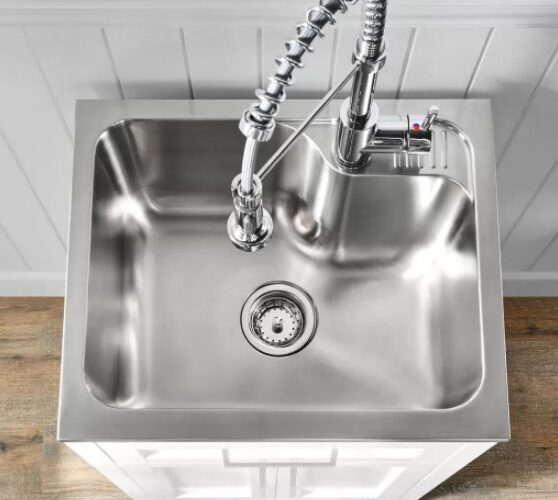 How To Install A Utility Sink In The Garage