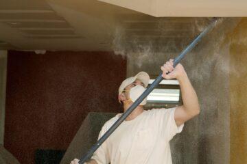drywall dust