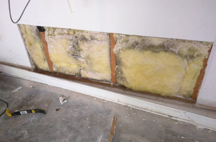 drywall on studs