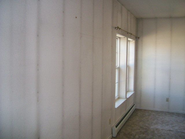 sheetrock wall ghosting