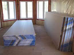 stacking drywall